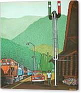 Glacier Park Belton Montana Canvas Print