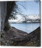 Glacier Park View Canvas Print