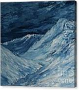 Glacier View Canvas Print