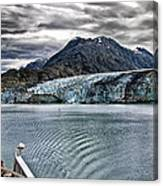 Glacier View Canvas Print