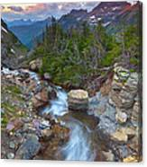 Glaciers Wild Canvas Print