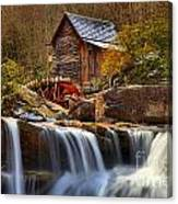 Glade Creek Cascades Canvas Print