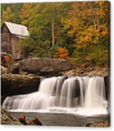 Glade Creek Grist Mill 10 Canvas Print