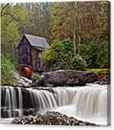 Glade Creek Waterfall Canvas Print