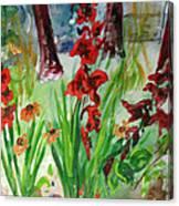 Gladioli-2 Canvas Print