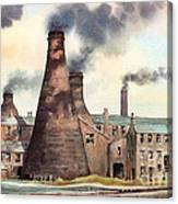 Gladstone Pottery Works Canvas Print