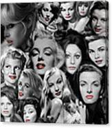 Glamour Girls 1 Canvas Print