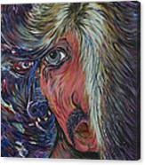 Glam's Alter Ego Canvas Print