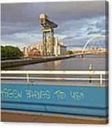Glasgow Belongs To Us Canvas Print