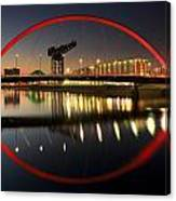 Glasgow Clyde Arc Bridge Canvas Print