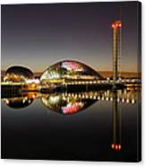 Glasgow Science Centre Canvas Print