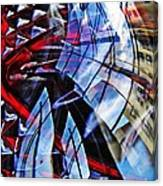 Glass Abstract 220 Canvas Print