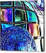 Glass Abstract 490 Canvas Print