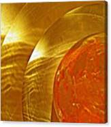 Glass Abstract 582 Canvas Print