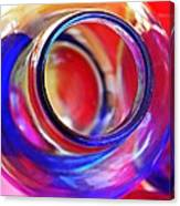 Glass Abstract 592 Canvas Print