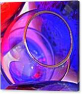Glass Abstract 594 Canvas Print