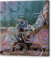 Glass Abstract II Canvas Print