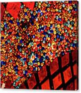 Glass And Beads Canvas Print