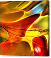 Glass And Light Canvas Print