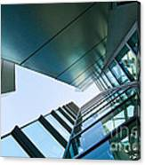 Glass And Metal - Walt Disney Concert Hall In Downtown Los Angeles Canvas Print