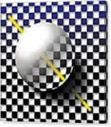 Glass Ball  Canvas Print