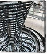 Glass Cupola - Berlin Canvas Print