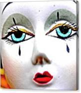 Glass Eyes Canvas Print