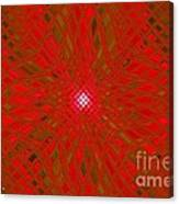 Glass Fantasia Catus 1 No 9 H Canvas Print