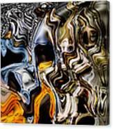 Melting Glass Canvas Print