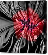Glass Flower Canvas Print