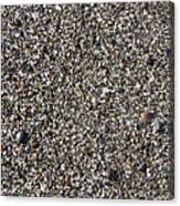 Glass In The Gravel Canvas Print