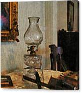 Glass Lamp And Stereopticon Canvas Print