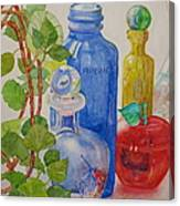 Glass Reunion Canvas Print