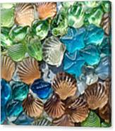 Glass Seashell Canvas Print