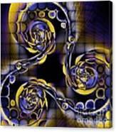 Glass Spirals Canvas Print