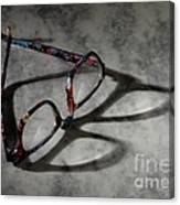 Glasses 1b Canvas Print