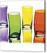 Glasses-rainbow Theme Canvas Print
