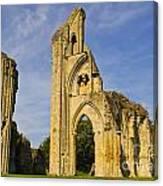 Glastonbury Abbey Canvas Print