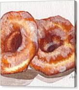 Glazed Donuts Canvas Print