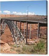 Glen Canyon Bridge Canvas Print