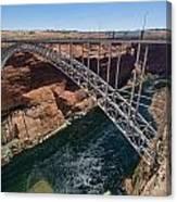 Glen Canyon Dam Bridge Canvas Print