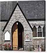 Glen Coe Church Canvas Print