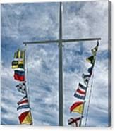 Glen Cove American Flag Canvas Print