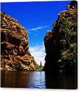 Glen Helen Gorge-outback Central Australia V2 Canvas Print