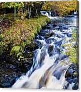 Glenbrittle Waterfall Canvas Print