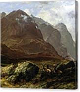 Glencoe, 1864 Canvas Print