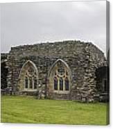 Glenluce Abbey - 1 Canvas Print