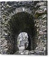 Glenluce Abbey - 3 Canvas Print