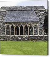 Glenluce Abbey - 5 Canvas Print