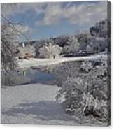 Glenmorgan After A Snow Canvas Print